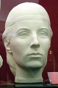 Елена Глинская. Реконструкция по черепу, С. Никитин, 1999 г.
