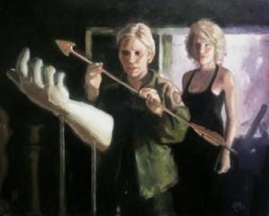 Каприка и Старбак со стрелой Аполлона