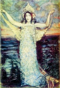 М. Врубель. Морская царевна